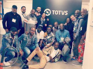 Visita à Totvs, uma das maiores fabricantes de software do mundo